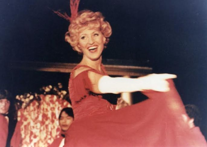 "Sheila in ""Hello, dolly!"""