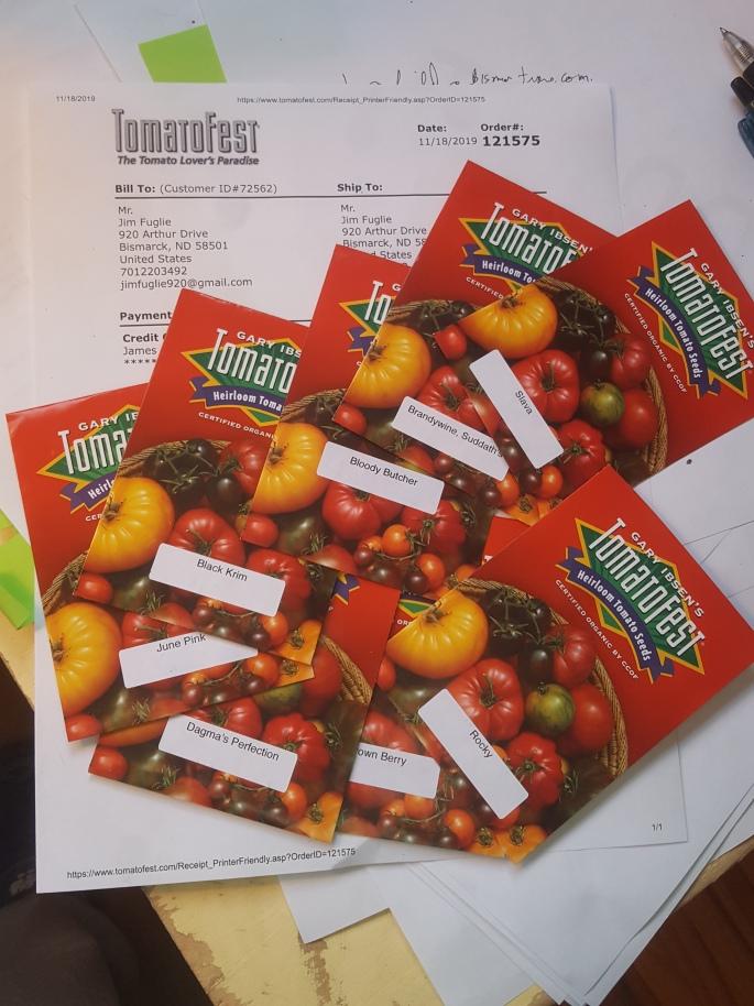 2020 tomato seeds